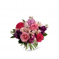 Pretty Pink Present - Same Day Flower Delivery